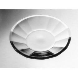Prato de Cristal Transparente