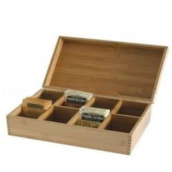 Caixa Para Chá Bamboo Naturals