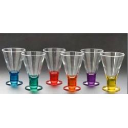 Conjunto de Taças em vidro P/ Sorvete Sorrento 6 Pçs