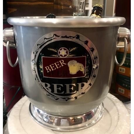 Balde Titan Beer Can Para Cerveja
