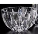 Fruteira Lapidada de Cristal Transparente Equinox 18CM